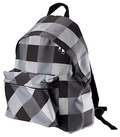 рюкзак клетка ( школьный) .
