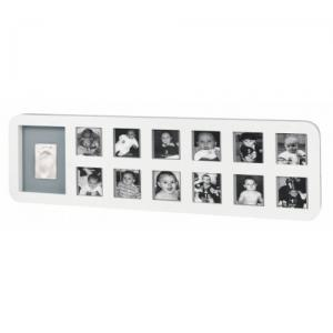 Рамочка Baby Art First Year Print Frame White/Grey  (34120085)