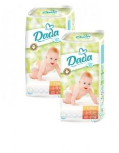 Подгузники Dada Extra Soft 3 midi (4-9 кг) 120шт Mega Pack 8594001939718 f811af600d3