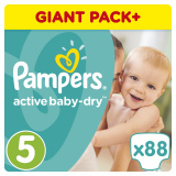 Подгузники Pampers Active Baby Junior 5 (11-18 кг)  88 шт. 8001090459411